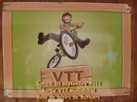 Maniabilité à Buthiers le 3 septembre 2011